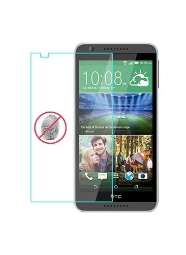Samsung Htc Desire 820 Ekran Koruyucu Mat - 4 Adet Renkli